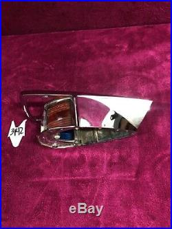 VINTAGE ATTWOOD SEA FLIGHT BOAT BOW LIGHT Nautical Green Red Old 50'S-60'S ERA