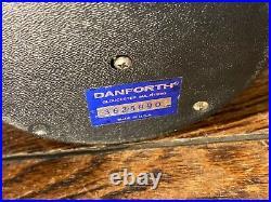 VINTAGE DANFORTH 4 CONSTELLATION COMPASS FLUSH/DASH/BINNACLE MOUNT WithLIGHT