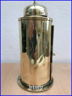 VINTAGE SHIPS LIGHT, Brass Binnacle Lamp. Boat Lantern Marine Yacht Maritime