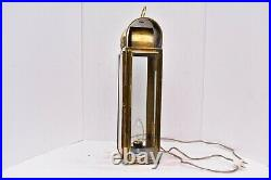 VTG LANTERN Cabin Light Lamp Nautical Atq Brass Ship Boat bosun 19 electric