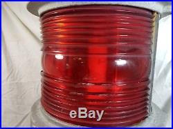 VTG Large Marine Bridge Navigation Span Light Red Green Lantern B & B Roadway #6