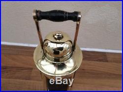 Vintage 1942 WW2 Brass Ships Compass Binnacle Light Maritime Marine Nautical