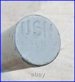 Vintage 1944 Wwii Usn Man Overboard Light Buoy Beacon Military Nautical