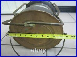 Vintage Anchor Ship Lantern Nautical Boat Oil Lamp Light Large 18 x 11