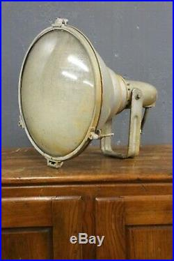 Vintage Antique General Electric Search Spot Light Ship Boat Nautical Steampunk
