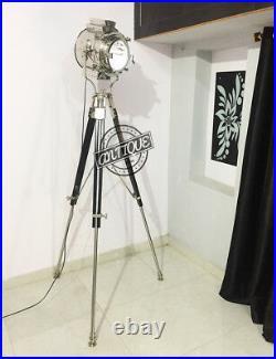 Vintage Big Events Hollywood Movie Prop Theatre Search Light Lamp Floor Spo