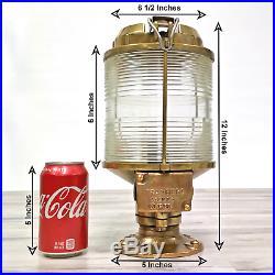 Vintage Brass 12.5 Tranberg Post Mounted Light