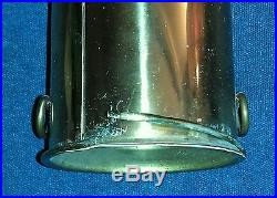 Vintage Brass Battery Powered Nauticle Ship Safety Emergency Lantern Light