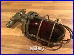 Vintage Brass Bronze Ships Port Navigation Light 29280 Maritime Marine Nautical