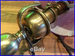 Vintage Brass Gimbal Admiralty Patt Ships Lamp Light Maritime Marine Nautical