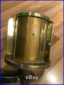 Vintage Brass Ships Bow Bicolour Lamp Light Maritime Maritime Nautical Boat