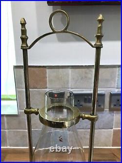 Vintage Brass Ships Hanging Oil Lamp Light Maritime Marine Nautical