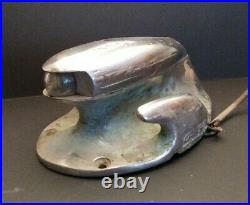 Vintage Chris Craft Boat stern bow light Nautical Salvage rope anchor CLEAT 11lb