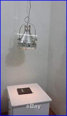 Vintage Chrome Hallway Nautical Ceiling /Pendant Hanging Light, Kitchen, Dinning