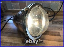 Vintage Copper & Brass Ships Spot Seahorse Navigation Light Maritime Maritime