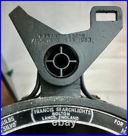 Vintage Francis Ships Searchlight / Signalling Lantern / Light, Cased, Nautical