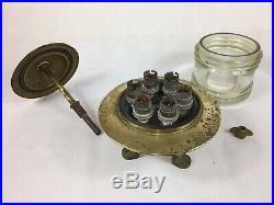 Vintage Fresnel Marine / Ships Brass Lights (Port / Harbour Lights) Nautical X 2