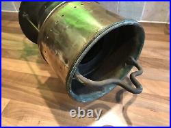 Vintage Heavy Brass Ships Anchor All Round White Light Maritime Nautical Boat