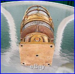 Vintage Heavy Cast Brass Nautical Post Light (Lot B)