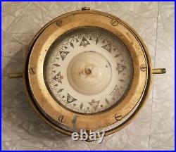 Vintage Henry Browne & Sons Type A Sestrel Binnacle Compass Light Lamp