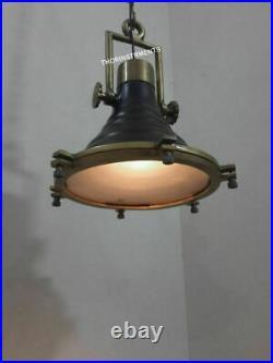 Vintage Industrial Wave Nautical Pendant Lamp Hanging Ceiling Light