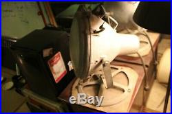 Vintage Large Working Prong Crouse Hinds Nautical Search Light from 1940's Ship