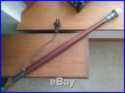 Vintage Mahogany Stern Boat Flag Pole Light Antique Chris Craft Nautical Anchor