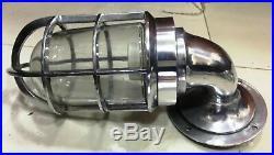 Vintage Marine Aluminum Passage Light Ship Nautical Schott Light 12 Pieces Set