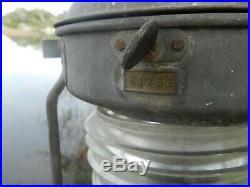 Vintage Marine Light 20 X 13 X +4 inch Handle 11.84 Pounds