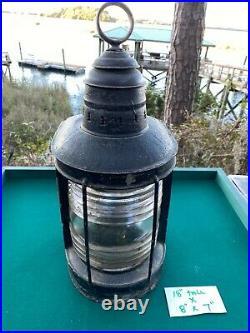 Vintage Marine Light Ship Light 17 X 8 X 7 Mast Head Lantern