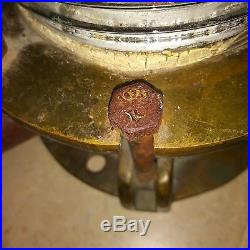 Vintage Meratime Brass Electric Boat Light Heavy