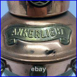 Vintage Nautical Copper Ankerlight Oil Lantern Light Lamp
