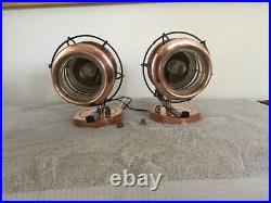 Vintage Nautical Copper Porch Light, lamps. Wall lamps nauticalt