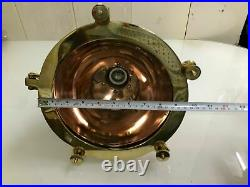 Vintage Nautical Marine Cargo Pendant Hanging Light Made Of Brass And Copper New
