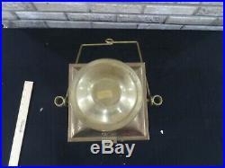 Vintage Neptune Nautical Maritime Ship Lantern Oil Brass Kerosene Light