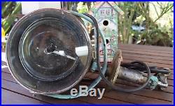 Vintage No Name Search Spot Light Nautical Boat Ship Light House Navy Light