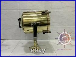 Vintage Old Antique Marine Brass Ship Salvage Signal Spot Light
