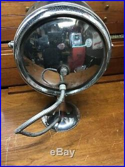 Vintage One Mile Ray 733 Spot Light Chris Craft Search Light Nautical Decor COOL