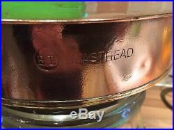 Vintage Original Copper & Brass Ships BT Masthead Light Maritime Marine