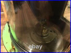 Vintage Original Copper Brass Ships Masthead Light Lamp Maritime Marine Nautical