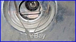 Vintage Original Marine Copper & Brass Nautical Ship Hanging Deck Light Piece 1