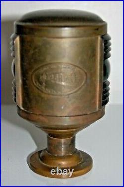 Vintage PERKO Brass Port & Starboard Ship Light / Signal Lamp Boat