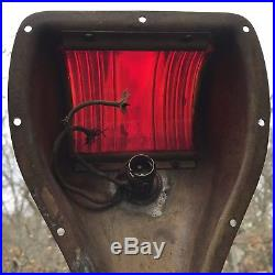 Vintage Pair Perko Brass Port And Starboard Boat Lights Nautical Navigation