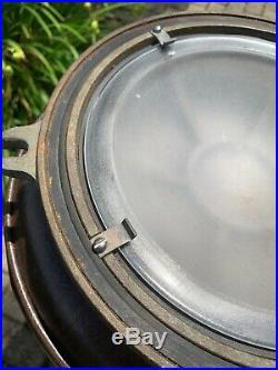 Vintage Pauluhn NY Brass Ships Light Cover/ Porthole