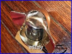 Vintage Perko Polished Bronze/brass Stern Light (large Size) Yacht Jewelry