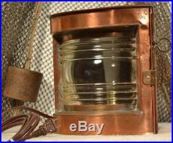 Vintage Port Ship Light
