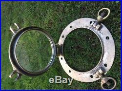 Vintage Porthole. Light Brass. Boat Yacht Marine Nautical