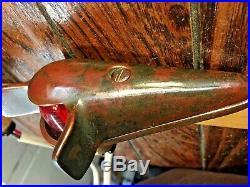 Vintage Pr. Wilcox Crittenden Bronze Teardrop Top Mount Running Lights Led Bulbs