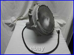 Vintage Pyle National Spotlight Search Light with Mounting Bracket, 14 Inch Lens