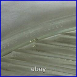 Vintage Pyrex Large Glass D. Flat Front Glass Spot Light Lens